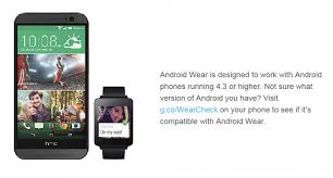 is htc android is your htc device compatible with android wear htc source