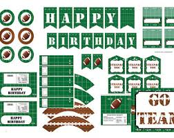 football party decorations football baby shower etsy