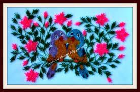 paper quilling birds tutorial anastasia annie wahalatantiri quilling birds in love quilling