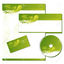 Business Letterhead Design Vector Illustration Of Business Template With Business Card Cd Cover