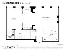 432 Park Ave Floor Plans Streeteasy 254 Pas At 254 Park Avenue South In Flatiron 4c