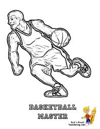 basketball coloring pages get coloring pages