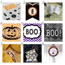 free halloween printables a thrifty mrs