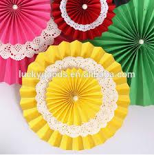 Wedding Backdrop Diy Elegant Party Or Wedding Backdrop Diy Paper Wheel Fan Buy Paper