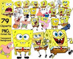 spongebob halloween background spongebob birthday clipart 72