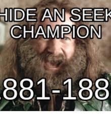 Hide And Seek Meme - 25 best memes about hide and seek chion meme hide and seek