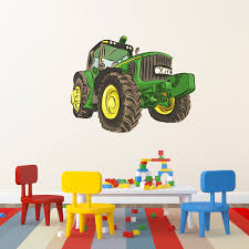 tractor printed wall decal tractor wall print decal