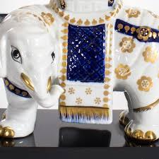 Porcelain Elephant Mid Century Fine Porcelain Elephant Lamp Decor Nyc Store