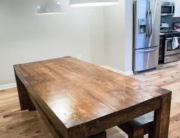 Rustic Farmhouse Dining Room Tables Modern Rustic Farmhouse Dining Room Table And Bench Set