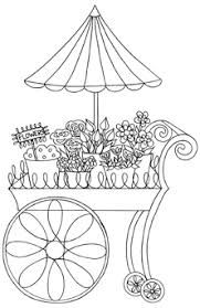 flower cart impression obsession cling st flower cart by leigh hannan
