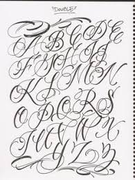 cursive tattoo font tattoo collections