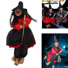 Halloween Witch Props Popular Halloween Decoration Witch Sound Buy Cheap Halloween