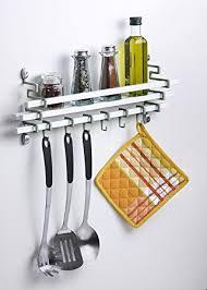 Kitchen Utensils Design by Amazon Com Assa Design Spice Rack And Utensils Hooks Kitchen