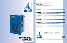beko drypoint ra compressed air equipment