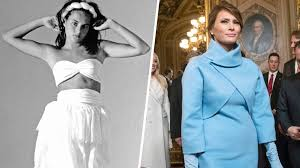 Fashion Model Resume See Photos Of Young Melania Trump U0027s Early Career As A Model At 16