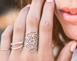 large silver rings images Large silver ring etsy jpg