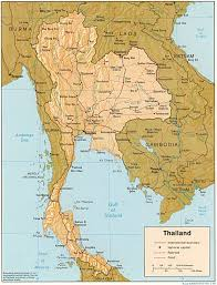 map of thailand thailand maps perry castañeda map collection ut library