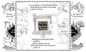 when do i send wedding invitations our harry potter marauders map wedding invites are finished i