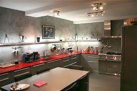 cuisine en béton ciré cuisine béton ciré plan travail mur sol crédence lancelin