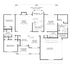 1 floor house plans awesome design ideas 2000 sq ft house plans 3 br 2 bath 1 country