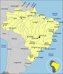 city map of brazil cities