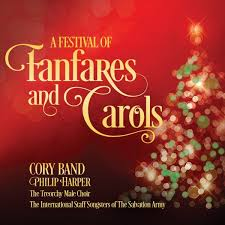 christmas cd a festival of fanfares and carols the band