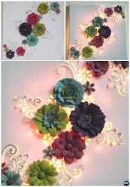 25 unique 3d canvas art ideas on pinterest 3d flower wall decor
