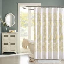 Crate And Barrel Shower Curtains White Lace Shower Curtains Interior Home Design Ideas