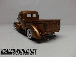 Classic Ford Truck Information - monogram 1940 ford pickup scaledworld