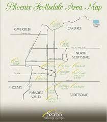 Map Of Scottsdale Arizona by Scottsdale Scottsdale Real Estate Team Arizona Luxury Homes