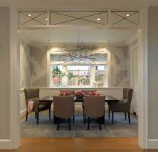 san francisco young couple dining room transitional with white