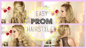 Hairstyles Easy And Quick by Quick And Easy Prom Hairstyles 615carebear Youtube