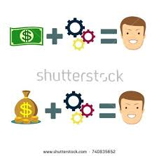 ideas solutions makes you smile stock stock illustration 689598253