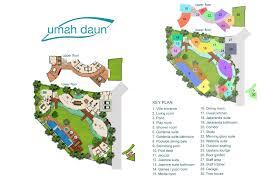 floorplan villa umah daun u2013 umalas 5 bedroom luxury villa bali
