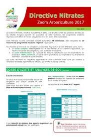 chambre agriculture 34 directive nitrates 2017 2018 zoom arboriculture chambre d