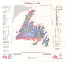 Newfoundland Map Soil Landscapes Of Canada Version 1 0