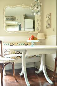 kitchen design dining room corner breakfast nook table breakfast full size of white table beautiful wall mirror decoration also small chandelier feat cool kitchen nook