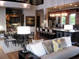 decorating ideas for open living room and kitchen open kitchen living room design