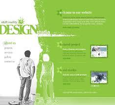 website template 8522 web design studio custom website template