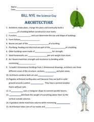 bill nye cells worksheet worksheets releaseboard free printable
