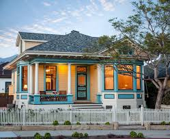 general paint with white columns exterior victorian and freest