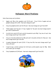 halloween maths full activity by mrskeletor teaching resources