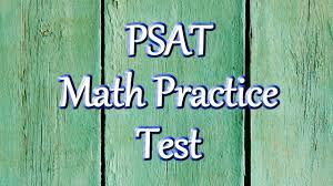 psat test prep math practice test youtube
