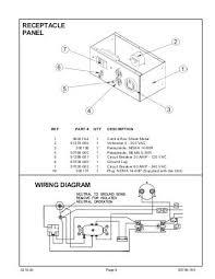 gp4000be parts list wiring diagram winco generators