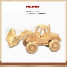 buy wooden bulldozer toy and get free shipping on aliexpress com