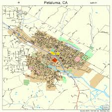petaluma ca map petaluma california map 0656784