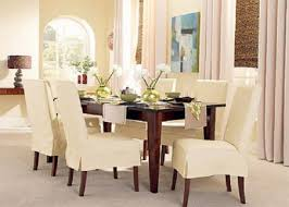 Kitchen Stylish  Best Chair Covers Ideas On Pinterest Seat For - Short dining room chair covers