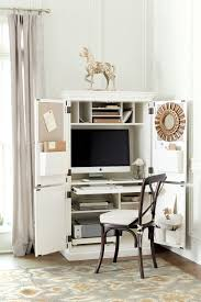 summer 2016 trends and inspiration how to decorate ballard designs audrey workstation has built in bulletin boards adjustable cubbies printer pull out