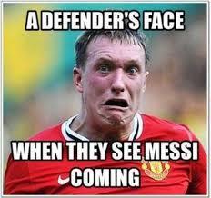 Meme Messi - funny messi and ronaldo memes european football epl uefa la