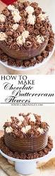 Buttercream Frosting For Decorating Cupcakes Buttercream Decorating Recipes You U0027ll Love On Pinterest